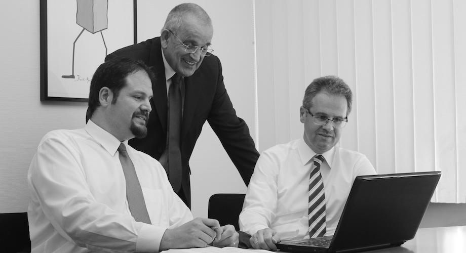 Rechtsanwälte Michael Trommsdorff, Hans-Bernd Beckert und Michael Doll beraten Sie zuverlässig und Kompetent